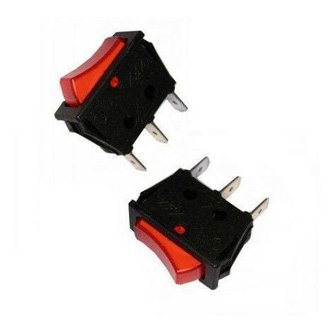 Interruptor luminoso empotrado 11X30mm EDM 45036