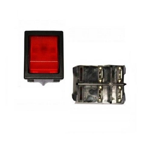 Interruptor luminoso empotrado 30x25mm EDM 45035