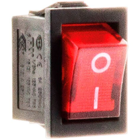 Interruptor luminoso empotrado unipolar 250V 6A - Zenitech