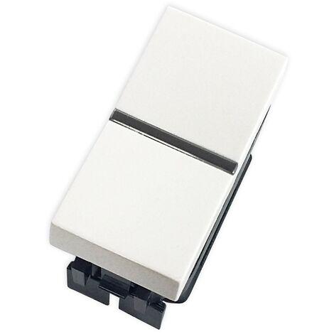 Interruptor monopolar blanco Zenit Niessen