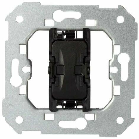 Interruptor para persiana 10AX Simon 75333-039 con 3 posiciones: subida,bajada y paro