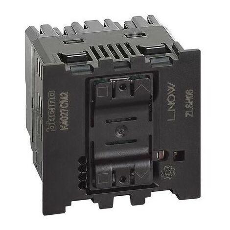 Interruptor para persianas conectado Bticino K4027CM2 serie Living Now with Netatmo