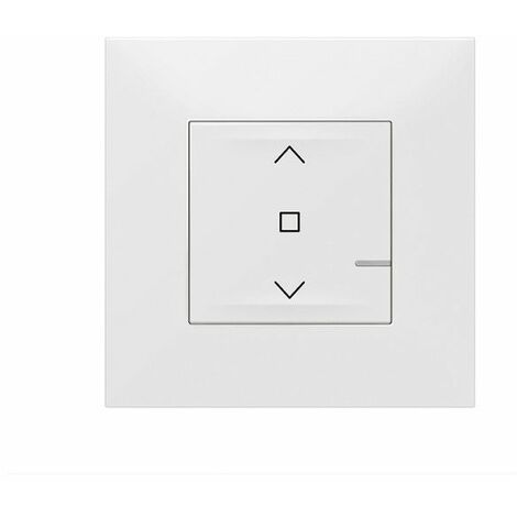 Interruptor para persianas conectado Legrand 741807 serie Valena Next with Netatmo color Blanco