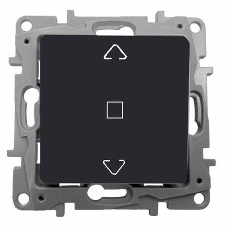Interruptor persiana 3 posiciones Antracita Niloe 665411
