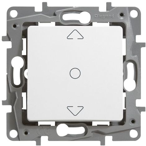 Interruptor persiana 3 posiciones Blanco Legrand Niloe 664711