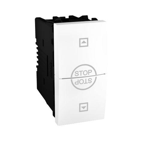 Interruptor persianas 1 mod Unica Polar SCHNEIDER ELECTRIC MGU3.108T.18