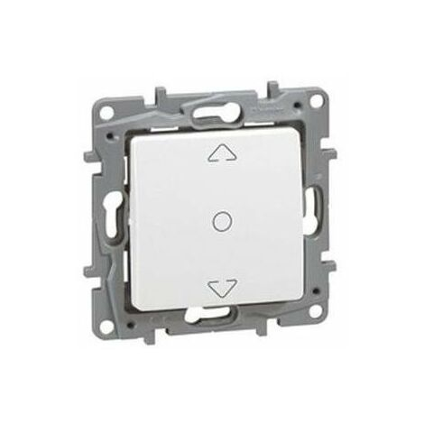 Interruptor persianas 3 posiciones Niloe Legrand Blanco 664711