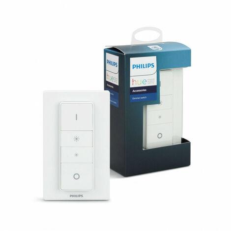 Interruptor Regulador Conmutado Hue Blanco