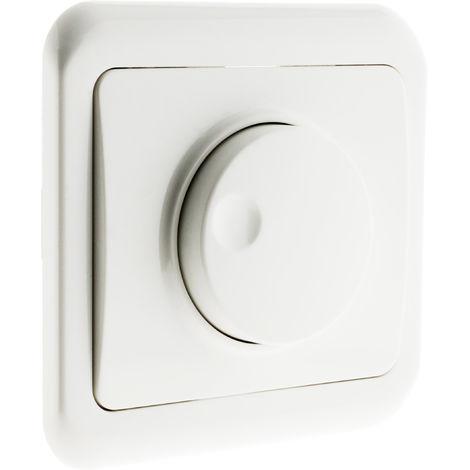 Interruptor regulador rotativo empotrable - Antaria