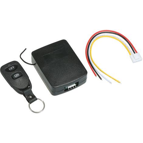 Interruptor remoto de apertura de puerta de garaje inteligente, 433Mhz DC 12V-24V 1CH