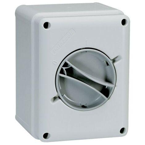 Interruptor-Seccionador Palazzoli pared 3X16A IP65 209163