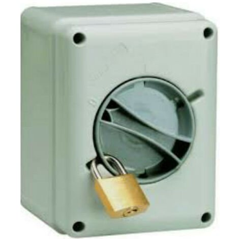 Interruptor-Seccionador Palazzoli pared 4X32A IP65 209324