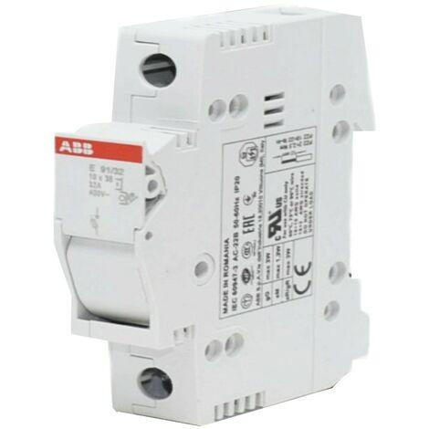 Interruptor seccionador portafusibles ABB Y 91/32 1P 32A M200923