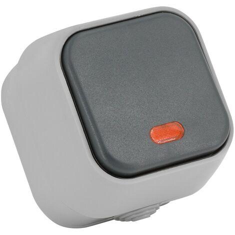 Interruptor Simple Pulsador con Indicador Luminoso IP54 PCPC