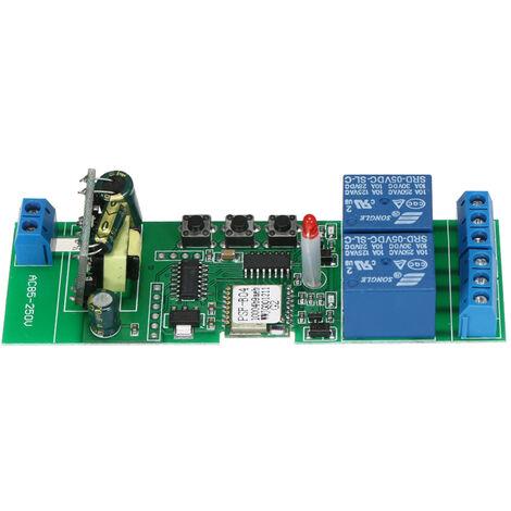 Interruptor Smart Wifi, 2 canales, AC85-250V, control remoto de la aplicacion