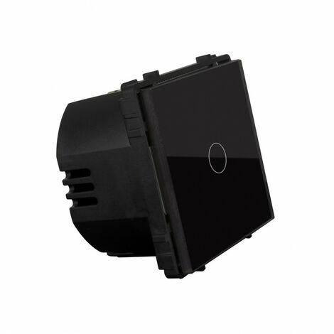 Interruptor Táctil Simple Remoto Negro