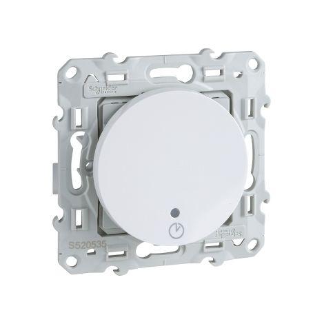 Interruptor temporizado 8A Odace Plata SCHNEIDER S530535