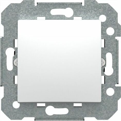 Interruptor unipolar BJC 23505 serie Viva Blanco polar