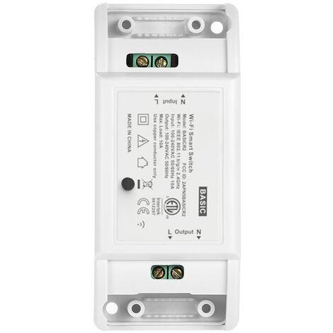 Interruptor Wifi, 10A / 2200W, Control de aplicaciones