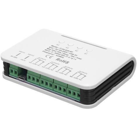 Interruptor Wifi 4 Interruptor de luz inalambrico universal de la cuadrilla 433MHz RF remoto wifi rele Igual a 4 canales Pro R2 Ewelink APP