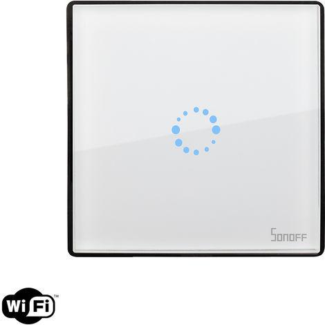 Interruptor WiFi Táctil Simple SONOFF Touch EU BlancoBlanco