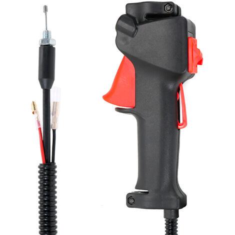Interruptores de las piezas del cortacesped, interruptor de la manija del cortador de cepillo del recortador