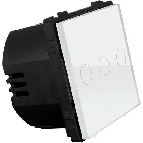 Interruttore Commutatore Touch Triplo