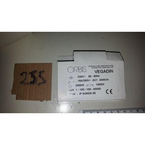Interruttore crepuscolare Per esterno a parete o palo 10 A 2000 W VEGA ORBIS