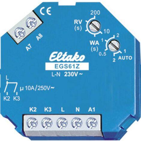 Interruttore impulso Incasso Eltako EGS61Z-230V 2 NA 230 V 16 A 1 pz.