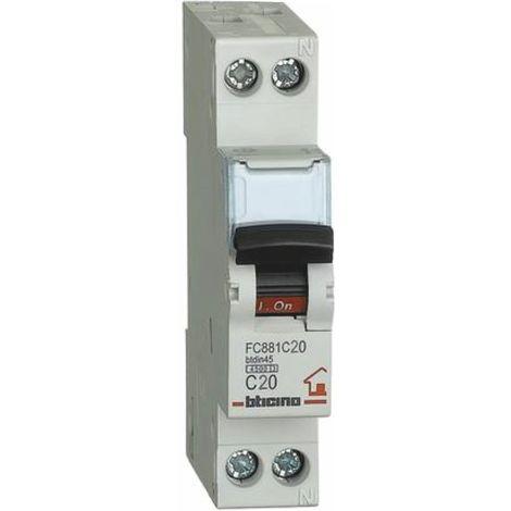 Interruttore magnetotermico Bticino 16A 1P+N