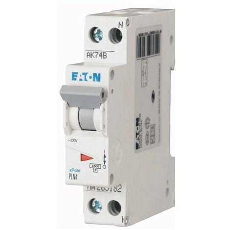 "main image of ""Interruttore magnetotermico Eaton 16A 1P+N 4,5KA 1 modulo 263192"""