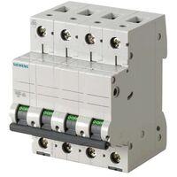 Interruttore Magnetotermico Siemens 4P 63A 6kA Tipo C 4 Moduli