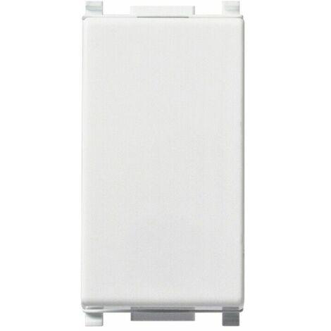 Interruttore vimar plana cod 14000 bianco 1p 10a impianto elettrico casa bianco