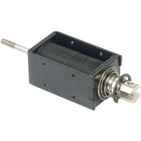 Intertec ITS-LS3830B-D-12VDC Hubmagnet drückend 2 N/mm 56 N/mm 12 V/DC 8W S75318