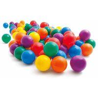 Intex 100 palline di plastica colorate cm 6,5