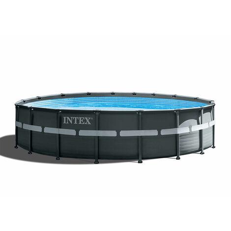 Intex 26330 ex 26332 Ultra Frame XTR Aufstellpool rund 549x132