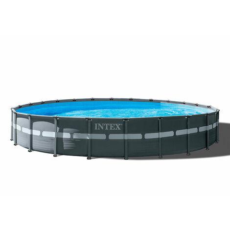 Intex 26340 Ultra Xtr Frame Aufstell Rund Pool 732x132cm