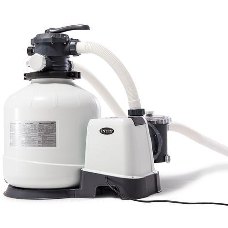 Intex 26644 ex 28644 universelle Sandfilteranlage Krystal Clear Sandfilterpumpe Aufstellpools 4500 l/h