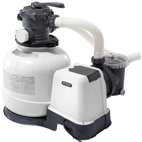 INTEX 26648 - Depuradora arena Krystal Clear 10.500 litros/hora 0,60 HP