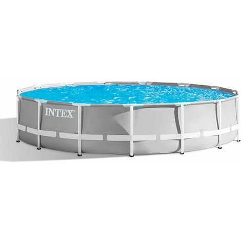 Intex 26756 ex 26762 Prism Frame Round Above Ground Pool 610x132cm