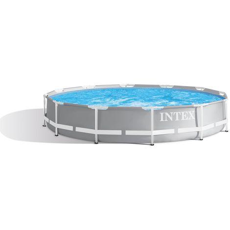 Intex 26788 Ex 26776 Prism Frame Aufstellpool Rechteckig 400x200x100