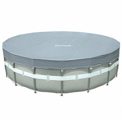 INTEX 28041 - Cobertor piscina metálica ultraframe 549 cm - rayos uv