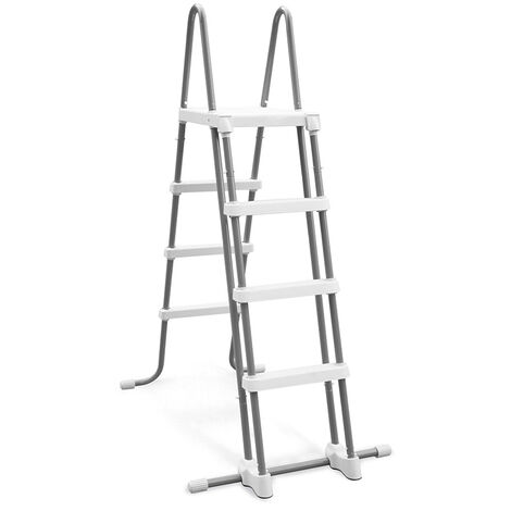 Intex 28076 Steel Safety Ladder for Above Ground Pools 122cm
