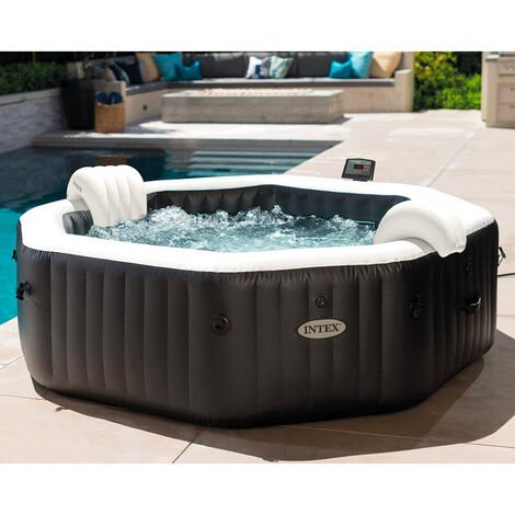 Intex 28458 Inflatable Whirlpool SPA 201x71 Jet and Bubble Deluxe