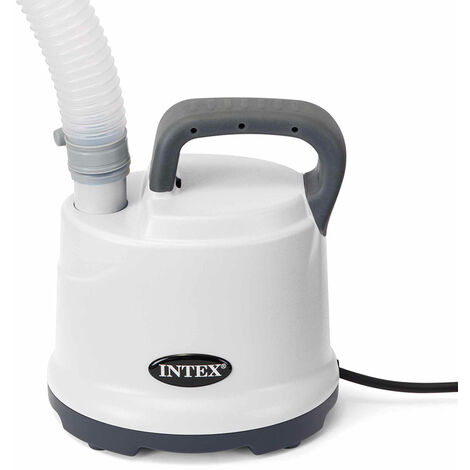 Intex 28606 Drain Pump for Above Ground Frame Pools with Hose