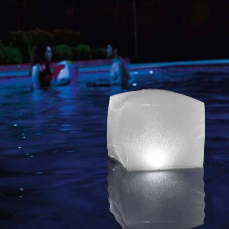 Intex 28694 LED Floating Cube Pool Light