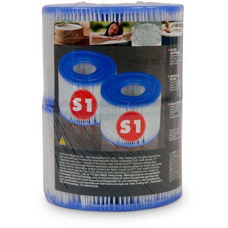 Intex 29001 PureSPa Whirlpoolzubehör Filterkartusche Typ S1 2 Stück
