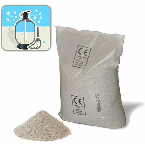 Intex 29058 Bestway 58201 25 kg of Universal Sand for Filter Pumps for Above Ground Pools