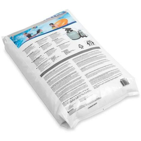 INTEX 29058 - sable de verre sac de 25 kg