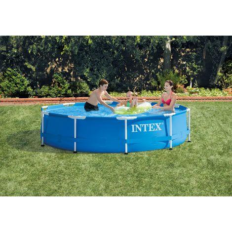 Intex 305x76 cm Metall Frame Pool Set Rondo